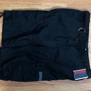 "Unionbay, 38w with 15"" inseam, black cargo shorts"